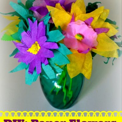 Craft Time: How To Make Colorful Paper Flowers