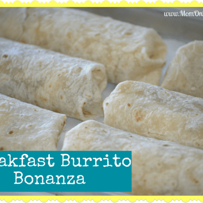 Breakfast Burritos Freezer Meal