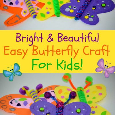 Bright and Beautiful Butterfly Craft