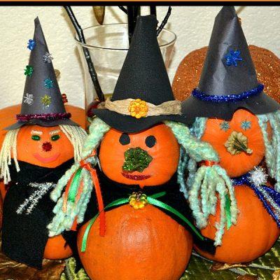 B-Witchin' Pumpkins – A Fun Halloween Craft Idea!