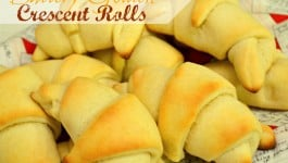Buttery Golden Crescent Rolls Recipe