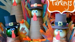 Pilgrim Turkeys…A Handprint Thanksgiving Craft!