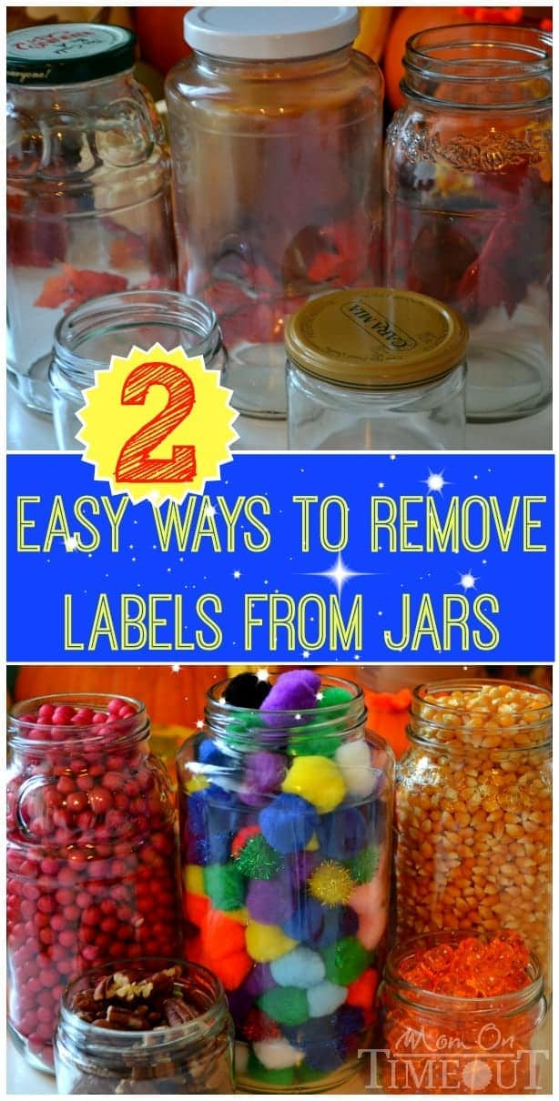 two easy ways to remove jar labels mom on timeout