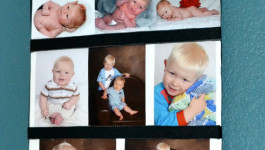 DIY-Photo-Display-Board