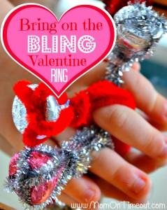 Bring on the Bling Valentine Ring