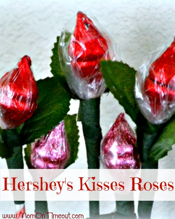 Hershey\'s Kisses Roses Tutorial - Mom On Timeout