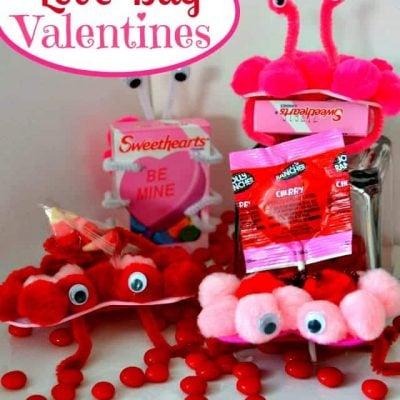 Love Bug Valentines {Craft}