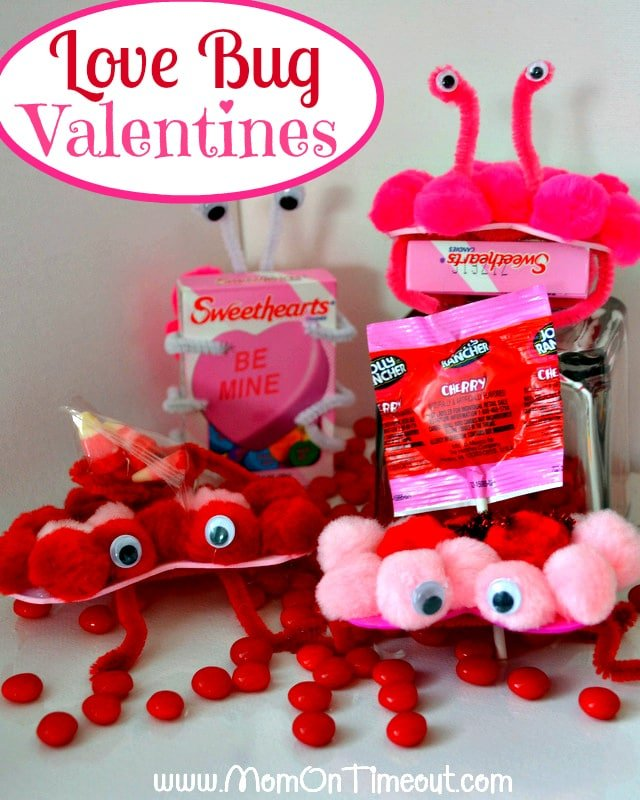 Love Bug Valentineu0027s Day Craft
