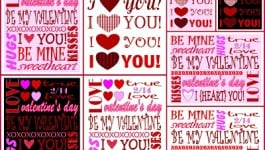 Valentine's Day Printables – Just For You!