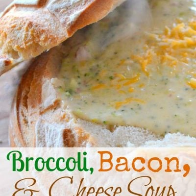 Broccoli, Bacon & Cheese Soup
