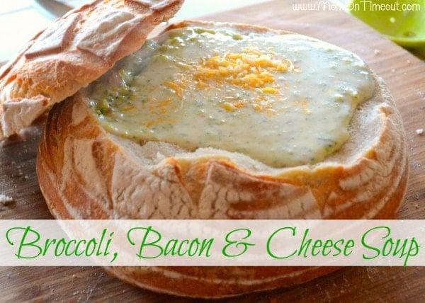 Broccoli Bacon and Cheese Soup Recipe