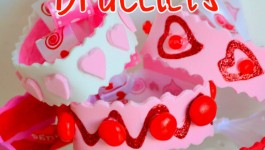Valentine's Day Bracelets {Craft}
