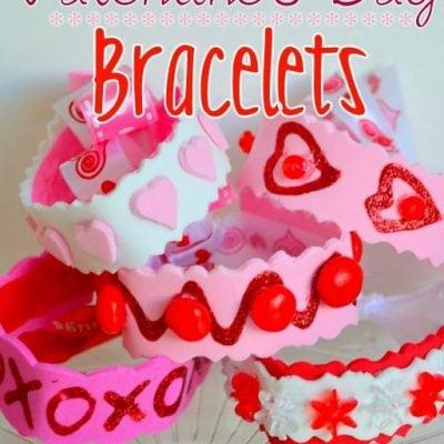 Valentine's Day Bracelets {Craft}