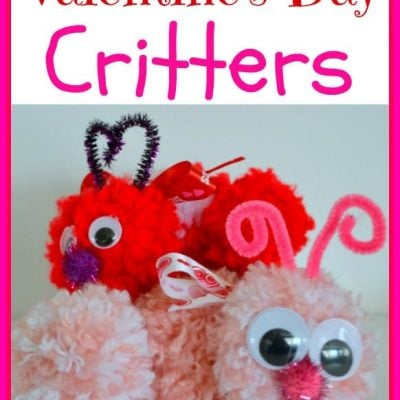 Valentine's Day Critters {Craft}