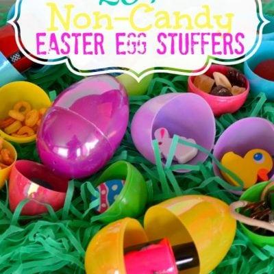 20+ Non-Candy Easter Egg Stuffer Ideas