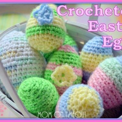Crocheted Easter Eggs & Pattern