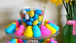 Peeps Easter Centerpiece