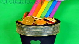 Potted Rainbow – A St. Patrick's Day Craft