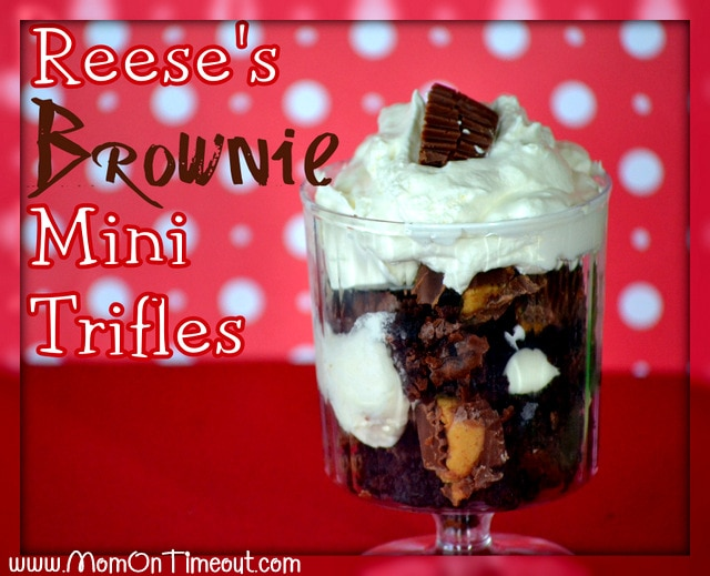 Reese's Brownie Mini Trifles