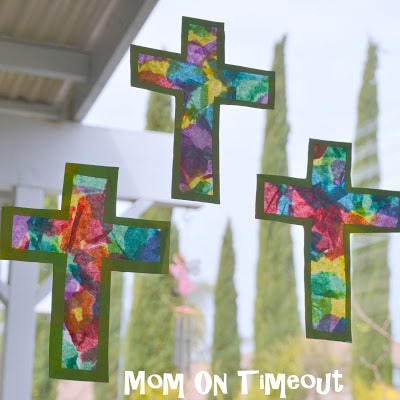 Stained-Glass-Cross-Craft