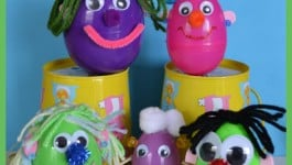 Egg Peeps {Easter Craft}