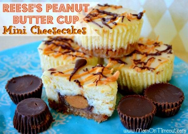 Reeses-Mini-Cheesecakes