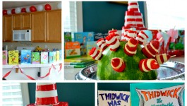 Dr Seuss Ice Cream Party