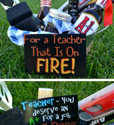 Teacher Appreciation Gift Idea – Grilling Kit