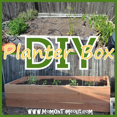 DIY Garden Planter Box Tutorial