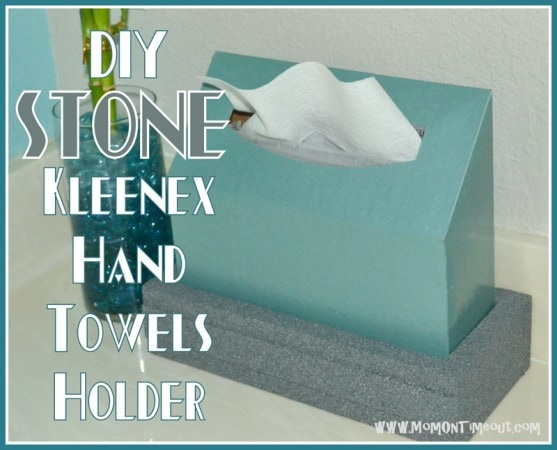 DIY<br /> Kleenex<br /> Hand<br /> Towels<br /> Holder