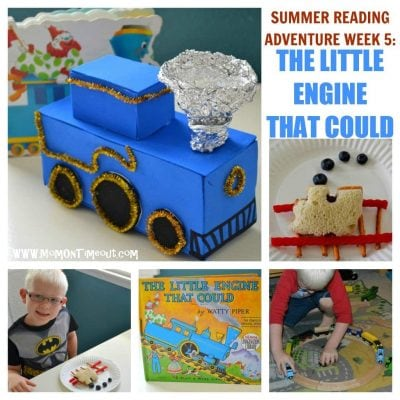 Summer Reading Adventure: Week 5 – The Little Engine That Could