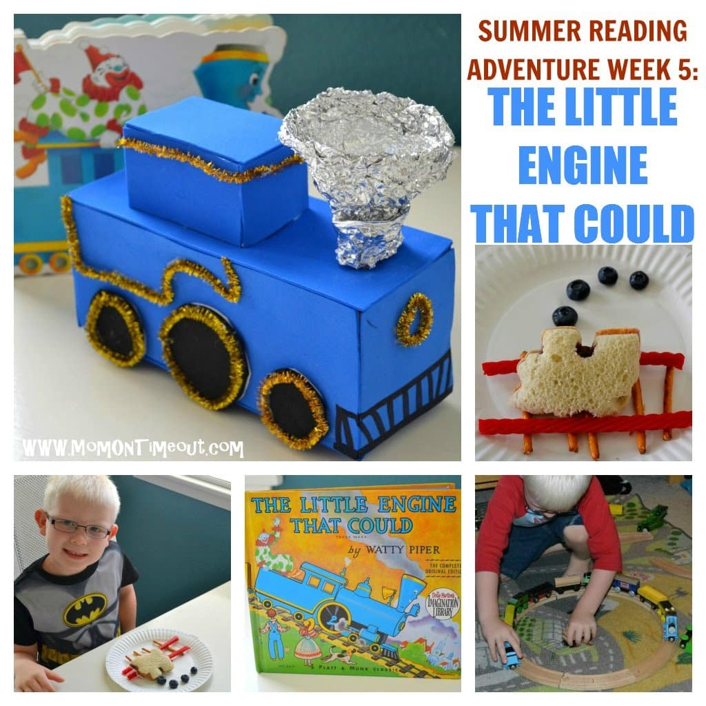 Little Engine That Could Activities, Crafts, Snacks & more! - Mom On Timeout