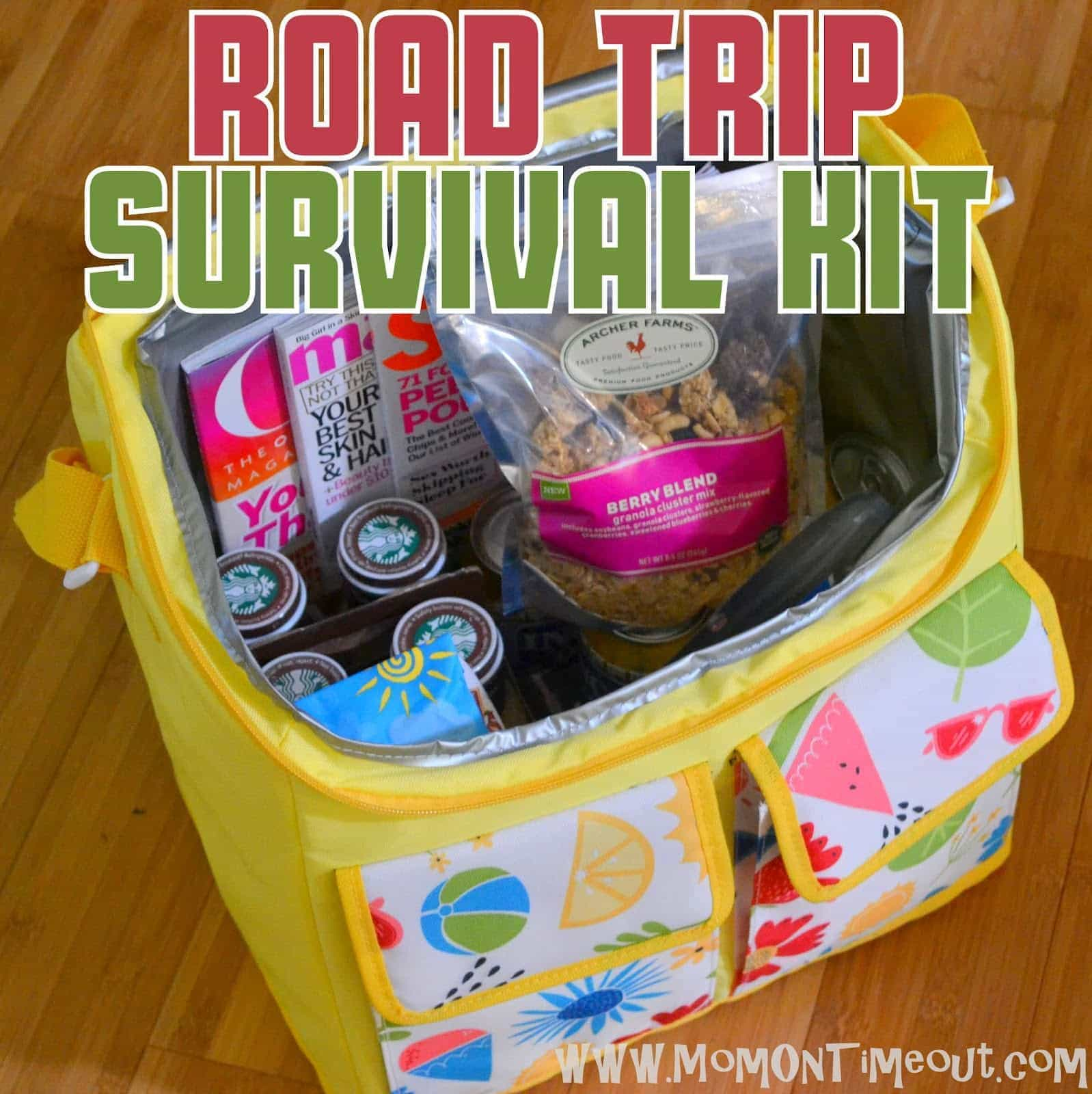Road Trip Survival Kit Gift Idea Mom On Timeout