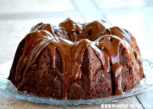 Chocolate Zucchini Cake | MomOnTimeout.com