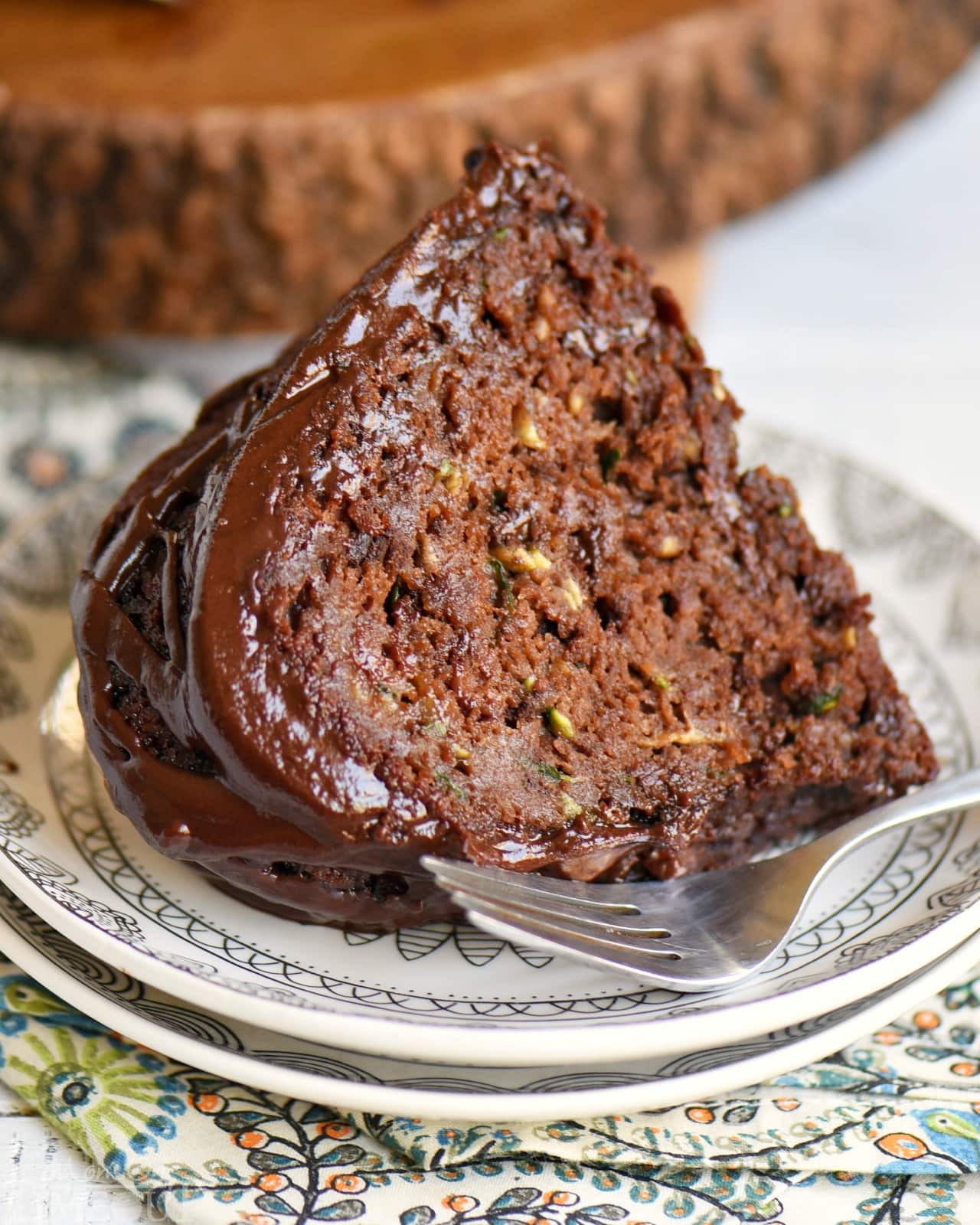 Chocolate Zucchini Cake Recipe - Mom On Timeout