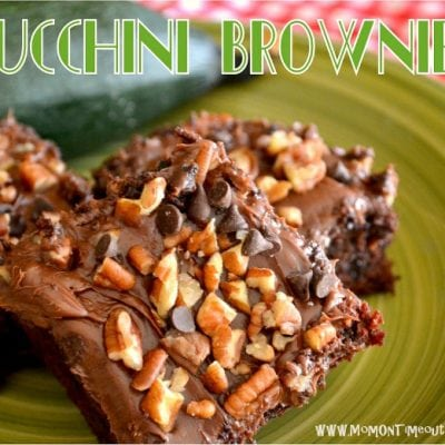 Amazing Zucchini Brownies