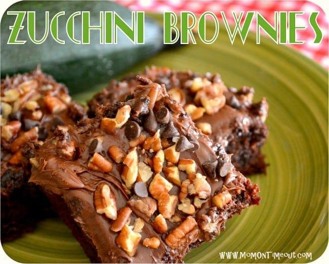 Amazing Zucchini Brownies | MomOnTimeout.com