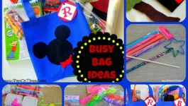 Busy Bag Collage