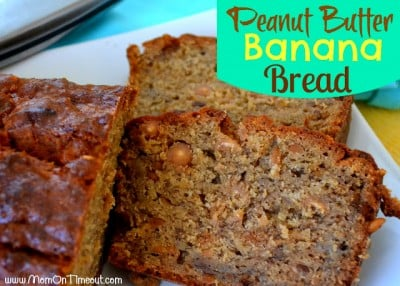 PB Banana Bread Label