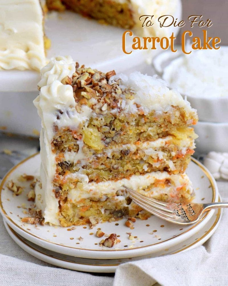 Miraculous To Die For Carrot Cake My Nanas Foolproof Recipe Funny Birthday Cards Online Overcheapnameinfo