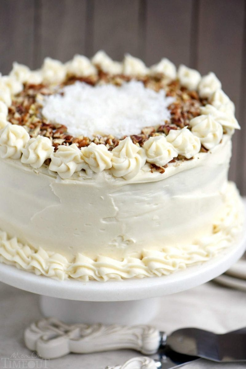 carrot cake with pineapple whole
