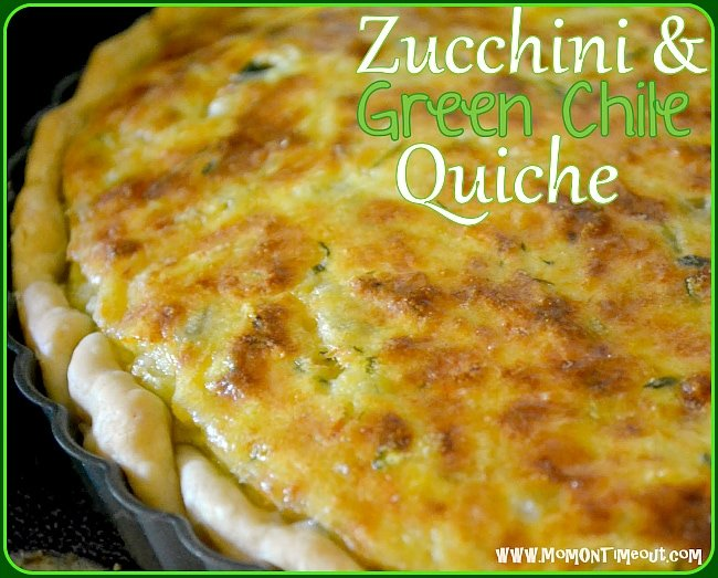egg breakfast casserole with zucchini and green chile corn green chile ...