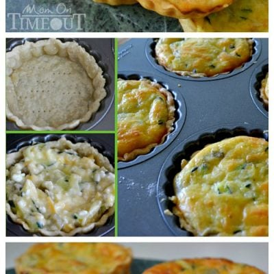 Zucchini and Green Chile Quiche