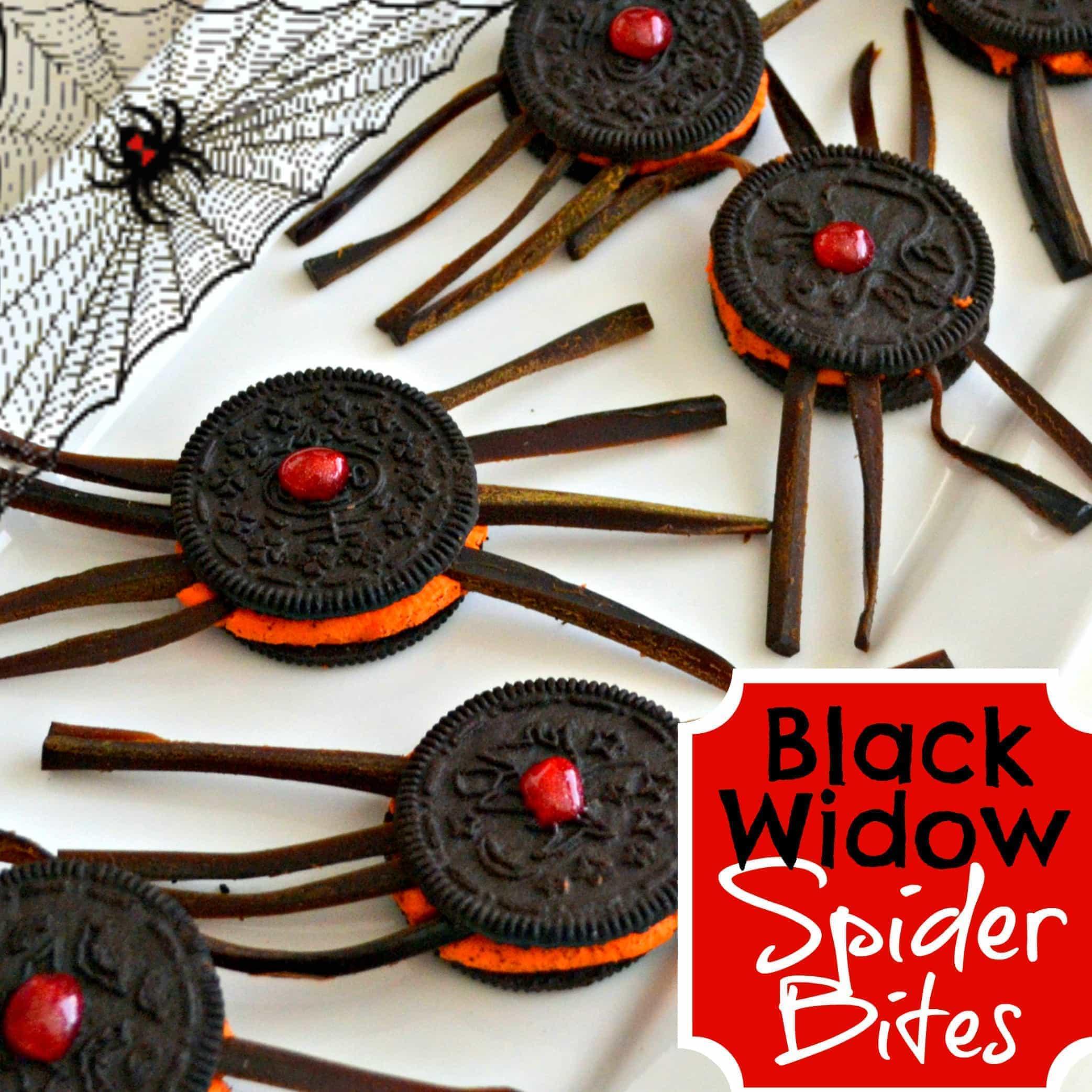 Black Widow Spider Bites