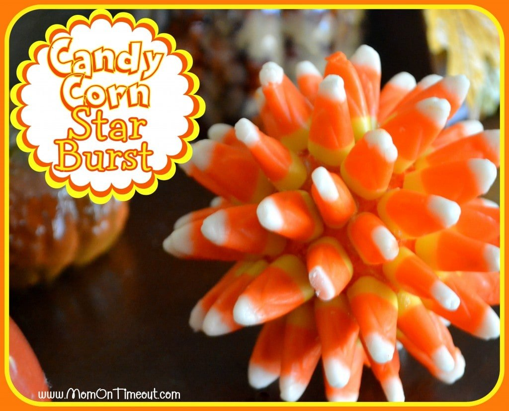 Candy Corn Star Burst