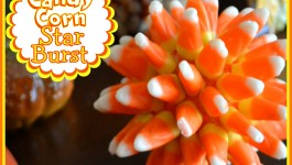 Candy Corn Star Burst {#Craft}