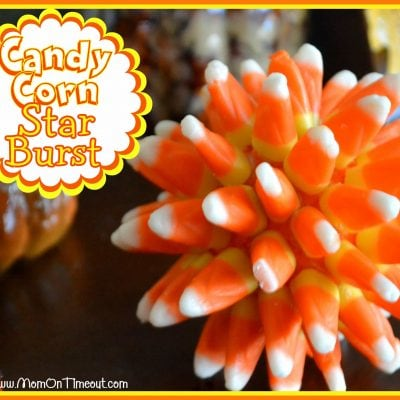 Candy Corn Star Burst