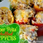 Pepper Potts Stuffed Peppers
