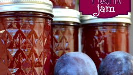Homemade Plum Jam {#Recipe}