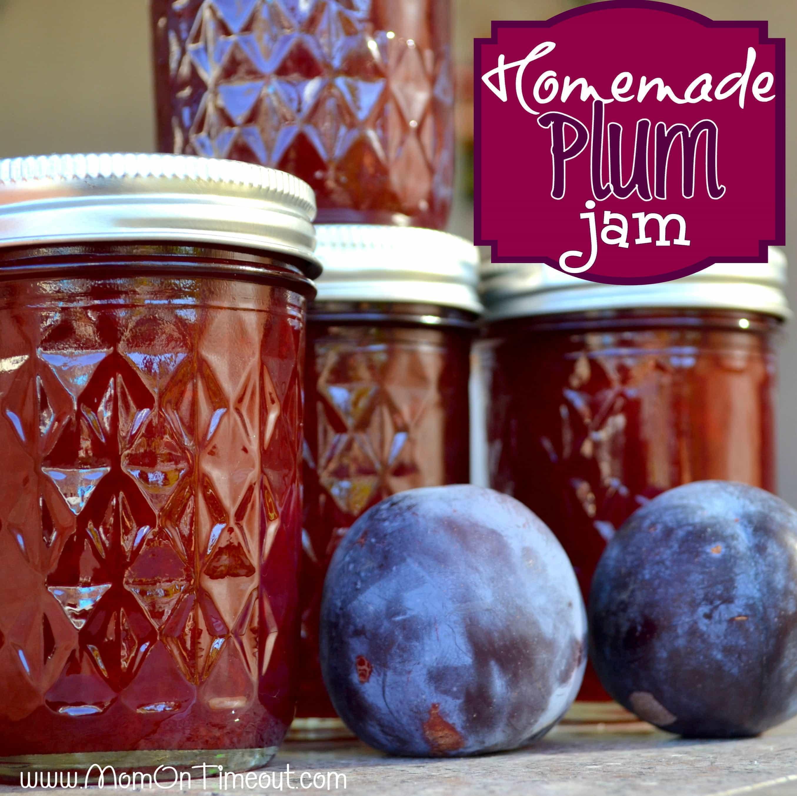 Homemade Plum Jam {#Recipe}